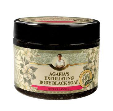Agafia mydło czarne do ciała oczyszczająco - złuszczające 300 ml