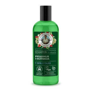 Agafia Szampon do włosów działanie oczyszczające i ochronne (260 ml)