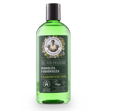 Agafia 5 łąkowych ziół nawilżająco-odświeżający żel pod prysznic  (260 ml)