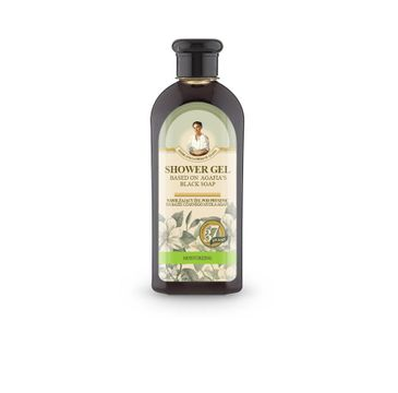 Agafia żel pod prysznic na bazie czarnego mydła 350 ml