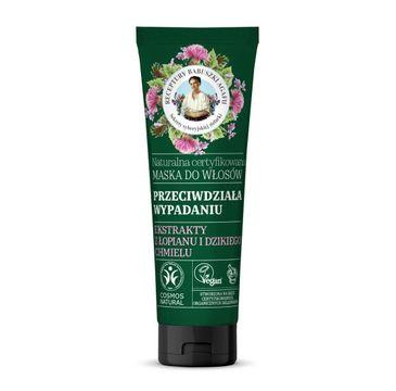 Receptury Babuszki Agafii – Naturalna maska do włosów przeciw wypadaniu włosów (200 ml)