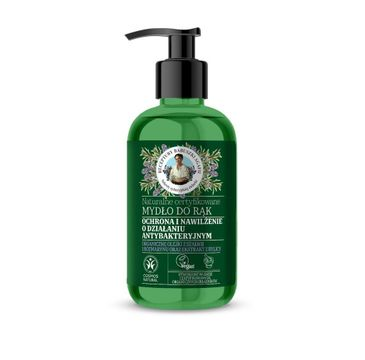 Agafia – Zielona naturalne mydło do rąk  (300 ml)