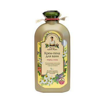 Receptury Babuszki Agafii Relaksująca pianka do kąpieli (500 ml)