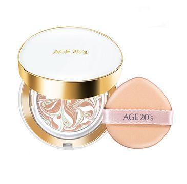 Age 20's Signature Essence Cover Pact Long Stay kompakt do makijażu 21 Light Beige (2 x 14 g)
