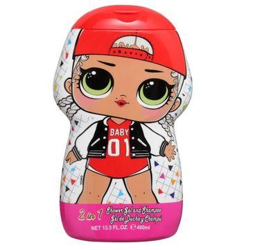 Air-Val L.O.L Surprise! 2in1 Shower Gel & Shampoo żel pod prysznic i szampon dla dzieci (400 ml)