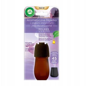 Air Wick Aromatyczna Mgiełka z Olejkami Eterycznymi Relaks wkład do automatycznego odświeżacza Jaśmin & Zielona Herbata & Kwiat Lotosu (20 ml)