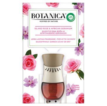 Air Wick Botanica elektryczny odświeżacz powietrza Egzotyczna Róża & Afrykańskie Geranium (19 ml)