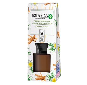 Air Wick Botanica patyczki zapachowe Karaibski Wetiwer & Drzewo Sandałowe (80 ml)