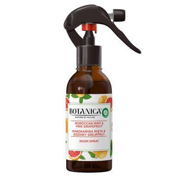 Air Wick Botanica Room Spray odświeżacz powietrza w sprayu Marokańska Mięta & Różowy Grejpfrut (236 ml)