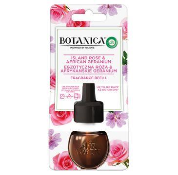 Air Wick Botanica wkład do elektrycznego odświeżacza Egzotyczna Róża & Afrykańskie Geranium (19 ml)