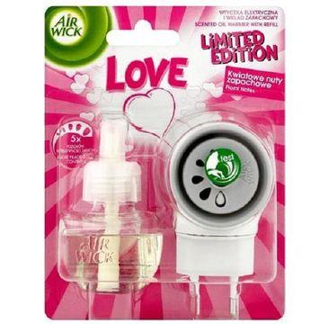 Air Wick Elektryczny odświeżacz powietrza LOVE komplet (19 ml)