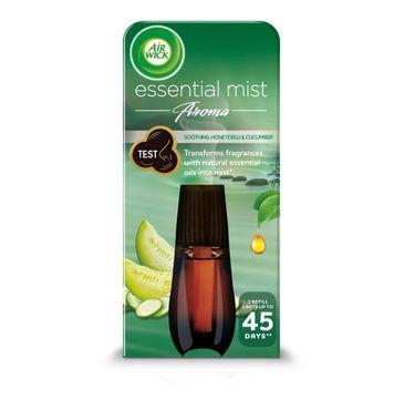 Air Wick Essential Mist Aroma odprężający wkład do automatycznego odświeżacza o zapachu ogórka i melona miodowego 20ml