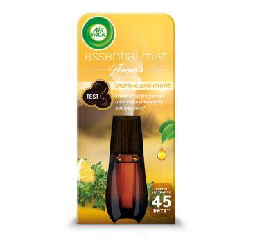 Air Wick Essential Mist Aroma orzeźwiający wkład do automatycznego odświeżacza o zapachu cytryny i tymianku 20ml