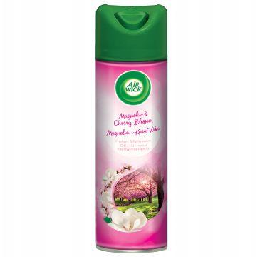 Air Wick Odświeżacz powietrza w sprayu Magnolia i Kwiat Wiśni (300 ml)