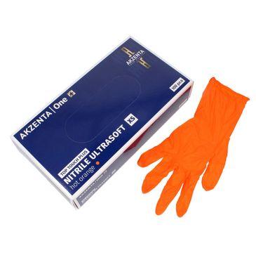 Akzenta Rękawice nitrylowe nie pudrowe 100 szt XS