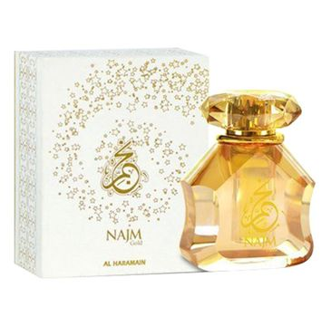 Al Haramain Najm Gold Unisex olejek perfumowany (18 ml)