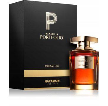 Al Haramain Portfolio Imperial Oud Unisex woda perfumowana spray (75 ml)