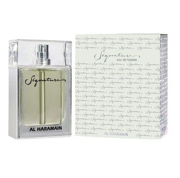 Al Haramain Signature Silver Unisex woda toaletowa spray (100 ml)