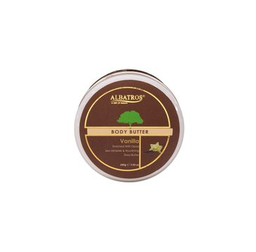 Albatros Body Butter masło do ciała Vanilla (200 g)