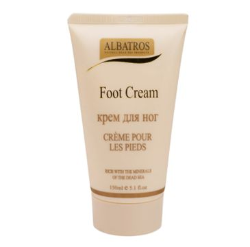 Albatros Dead Sea Foot Cream krem do stóp z minerałami z Morza Martwego (150 ml)