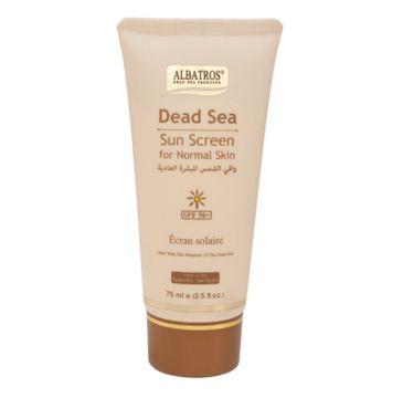 Albatros Dead Sea Sun Screen SPF50+ krem przeciwsłoneczny do skóry normalnej (75 ml)