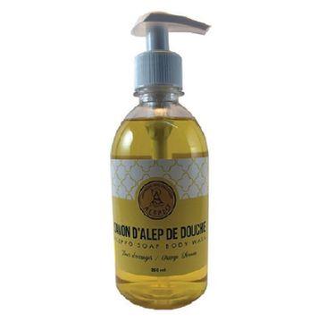 Alepeo Aleppo Soap Body Wash mydło w płynie Orange Flower 350ml