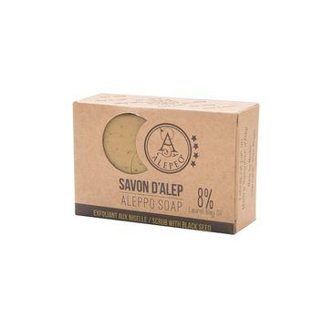 Alepeo Aleppo Soap mydło w kostce Scrub With Black Seed 100g