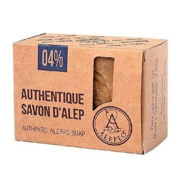 Alepeo Authentic Aleppo Soap 04% naturalne mydło w kostce 200g