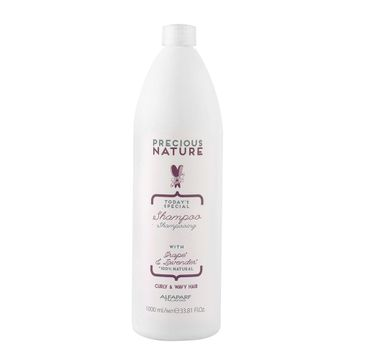 Alfaparf Precious Nature Shampoo szampon do włosów kręconych i falowanych Grape & Lavender (1000 ml)