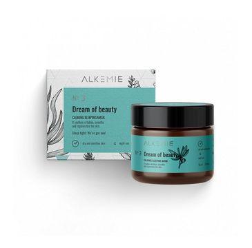 Alkemie No3 Dream Of Beauty Calming Sleeping Mask łagodząca maska-krem na noc (60 ml)