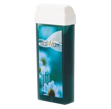 Italwax Wosk do depilacji w rolce Azuleonowy (100 ml)