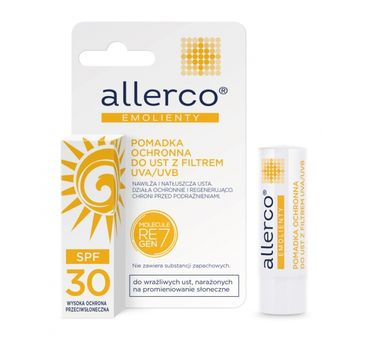 Allerco – pomadka ochronna do ust z filtrem UVA/UVB  (1 szt.)