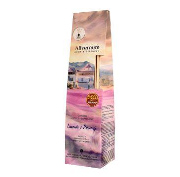 Allvernum Home & Essences dyfuzor z patyczkami zapachowymi Lawenda z Prowansji 50 ml