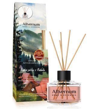 Allvernum – Home & Essences Dyfuzor z patyczkami zapachowymi Rajskie Jabłko z Podhala(50 ml)