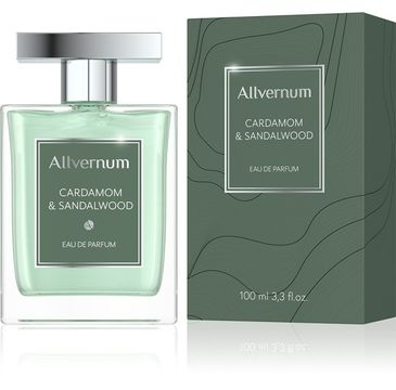 Allvernum Men Woda pefumowana Cardamom & Sandalwood 100ml