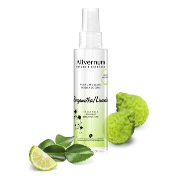 Allvernum Nature's Essences mgiełka do ciała perfumowana bergamotka i limonka 125 ml