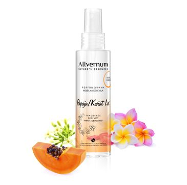 Allvernum Nature's Essences mgiełka do ciała perfumowana papaja i kwiat Lei 125 ml