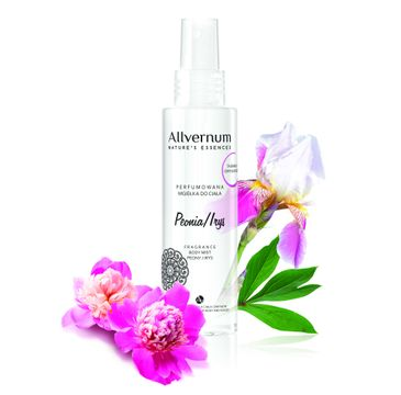 Allvernum Nature's Essences mgiełka do ciała perfumowana peonia i irys 125 ml