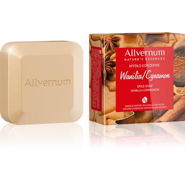 Allvernum Nature's Essences mydło korzenne w kostce wanilia i cynamon 100 g