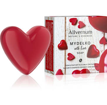 Allvernum Nature's Essences With Love mydełko w kostce 80 g