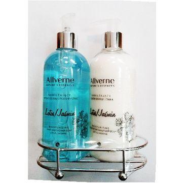Allvernum Nature's Essences zestaw prezentowy Lotos & Jaśmin (mydło 300 ml + eliksir do rąk i ciała 300 ml)