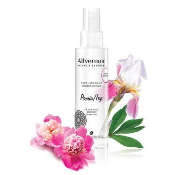 Allvernum Nature's Essences mgiełka do ciała perfumowana peonia i irys 125 ml