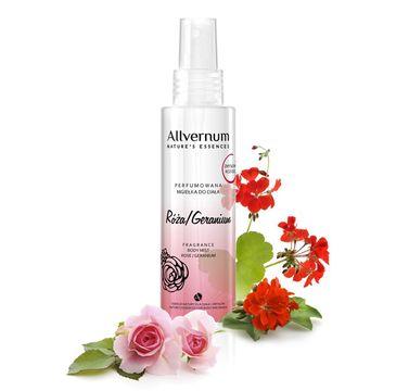 Allvernum Nature's Essences mgiełka do ciała perfumowana róża i geranium 125 ml