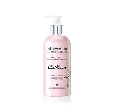 Allvernum Nature's Essences mydło do rąk i pod prysznic do każdego typu skóry lilia-mimoza 300 ml