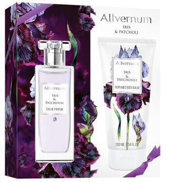 Allvernum zestaw prezentowy dla kobiet woda perfumowana Irys & Paczula 50 ml balsam perfumowany 200 ml