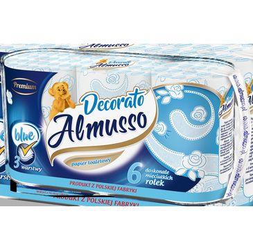 Almusso Decorato Papier toaletowy niebieski (6 rolek)