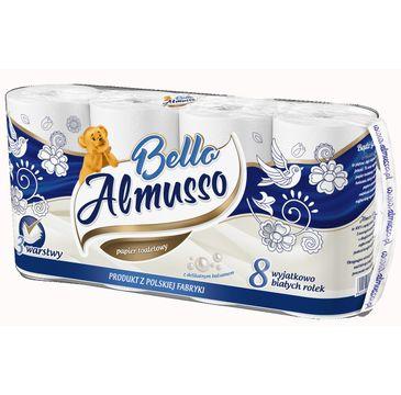 Almusso Papier toaletowy Bello 3 warstwowy (8 rolek)