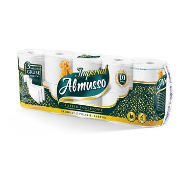 Almusso papiewr toaletowy Imperial (10 rolek)