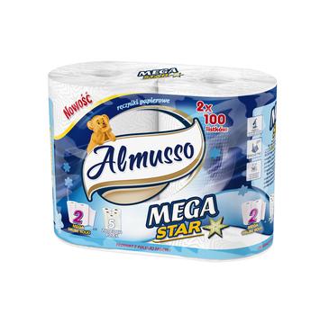 Almusso ręcznik papierowy Mega Star (2 rolki )