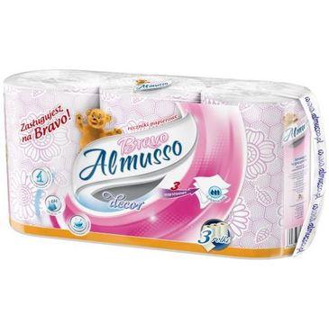 Almusso ręcznik papierorwy Bravo różowy (3 rolki)